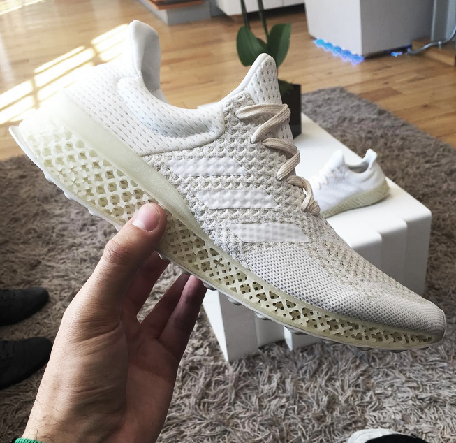 Video:  A glimpse into the future of running, the 3D-printed personalized shoe