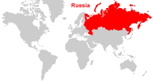map of russia 2