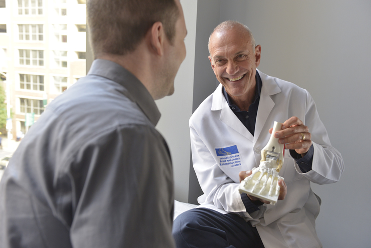 A 3D printed talus can save a patient from an ankle fusion
