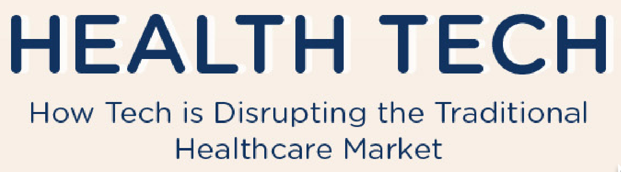 Infographic:  How Tech is Disturbing the Traditional Healthcare Market