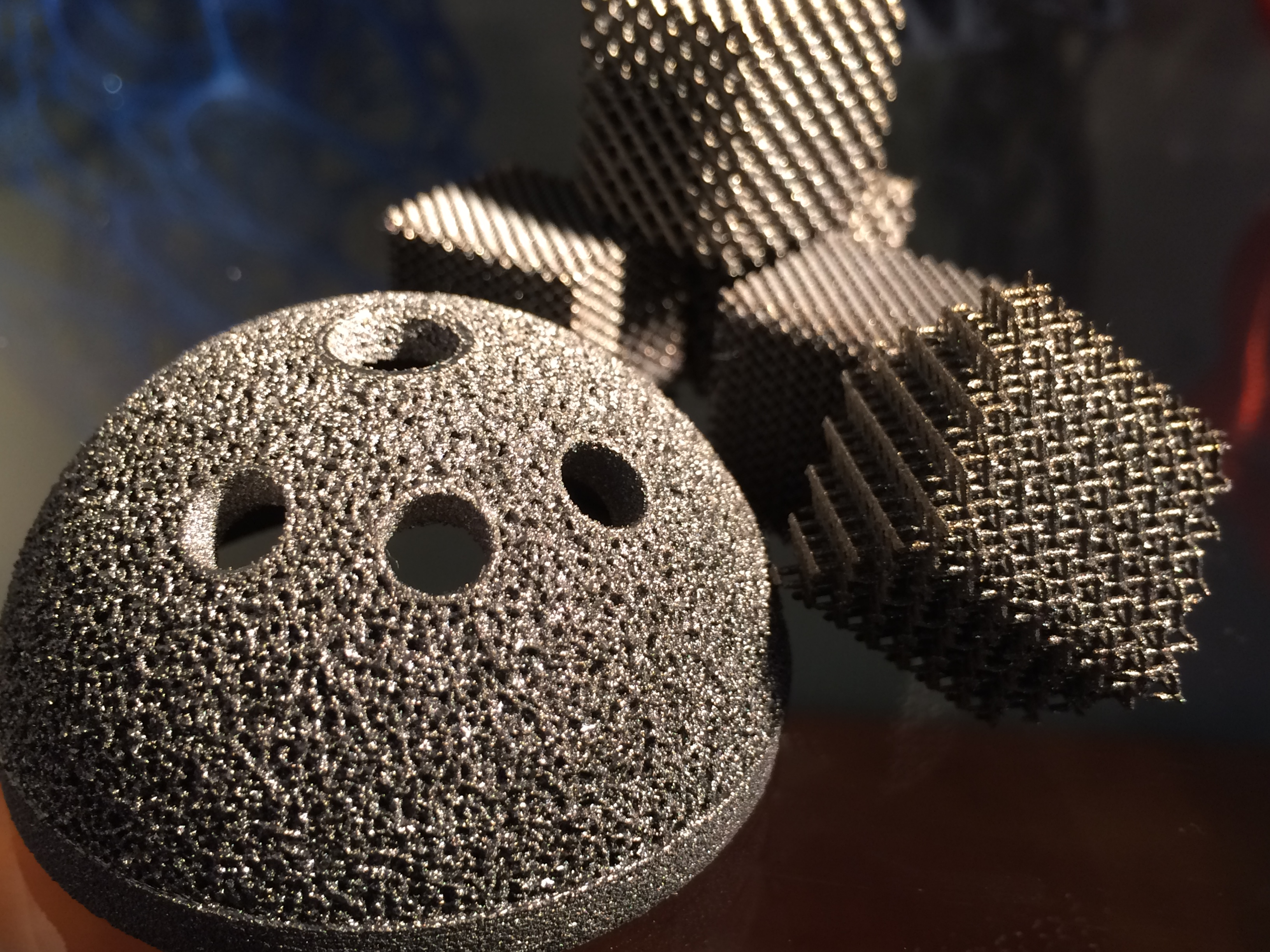 The making of a 3D-printed orthopedic Implant