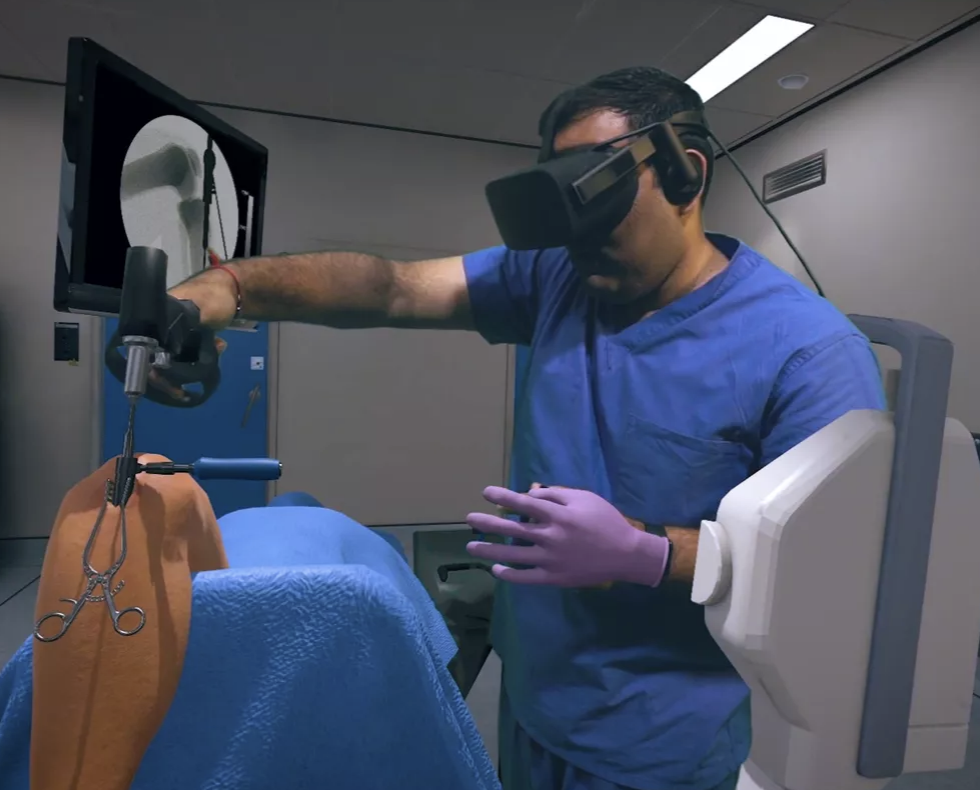 VR surgical training is coming into the top medical schools