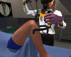 Orthopedic surgeons debate the pros/cons of VR surgical training.