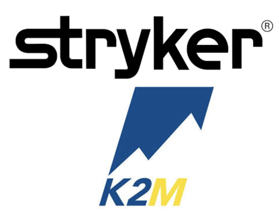 Stryker acquires K2M for $1.4 billion (4.7 X sales)