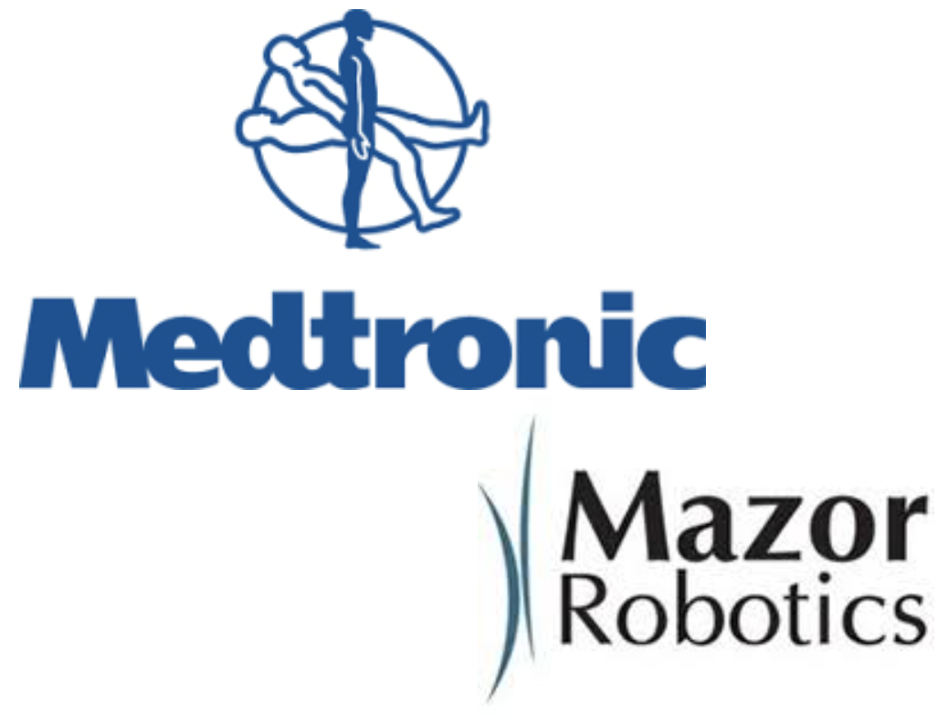 Medtronic acquires Mazor Robotics for $1.6B (13.5 X sales last year)