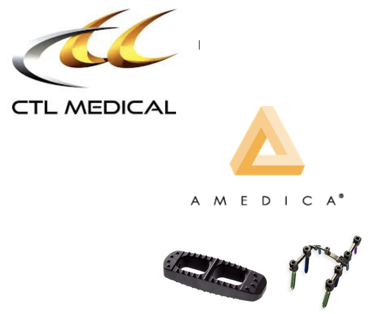 CTL Medical acquires Amedica's spine business and becomes CTL Amedica