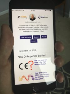 Read OrthoStreams on your cell
