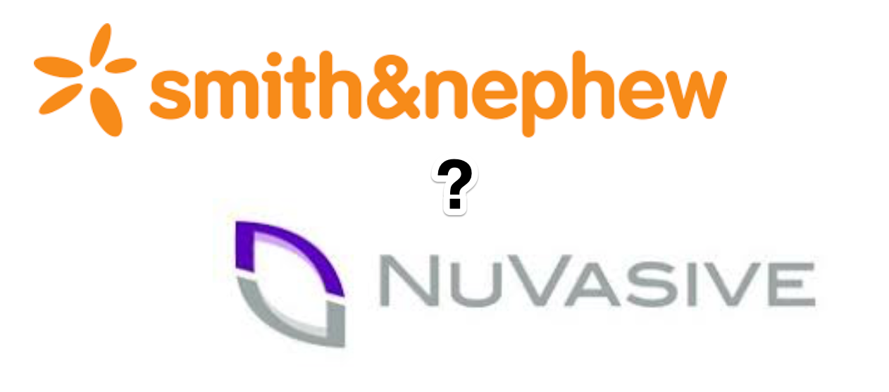 Will Smith & Nephew acquire NuVasive for more than $3B?