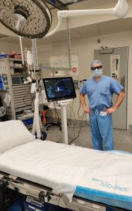 First Augmented Reality total knee surgery performed in the US
